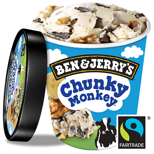 Foto Chunky Monkey, 500 ml